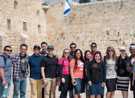 Holy Land Student Tour 2015. Western Wall, Jerusalem, Israel.