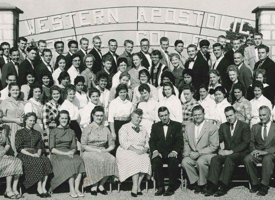 WABC Student Body (circa 1962).